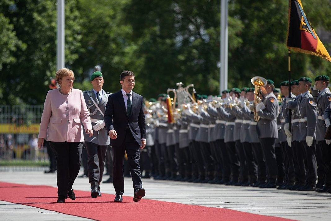 Germany's relationship with Ukraine