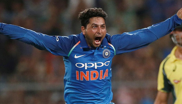 Kuldeep Hat Trick