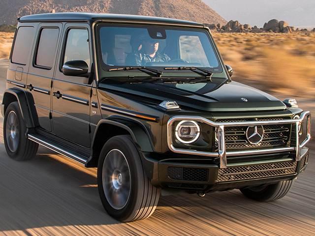 Mercedes-Benz G-class features