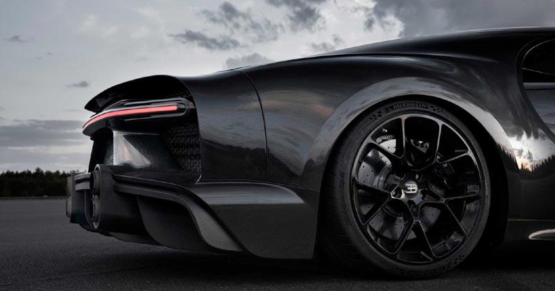 Tires Bugatti Chiron Sport