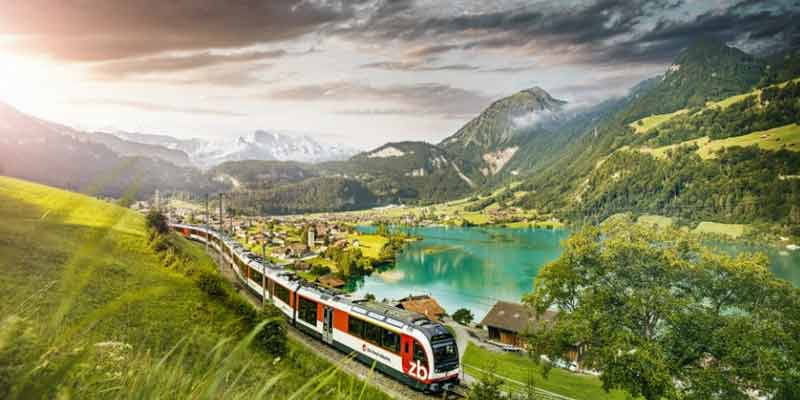 Travelling In Switzerland By Public Transport
