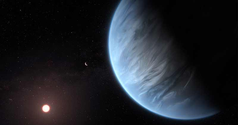 Water Found On Exoplanet