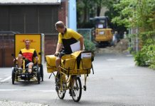 electric cargo bikes in Germany