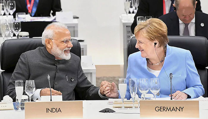 Angela Merkel coming to india