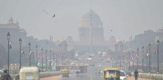 Delhi's air quality
