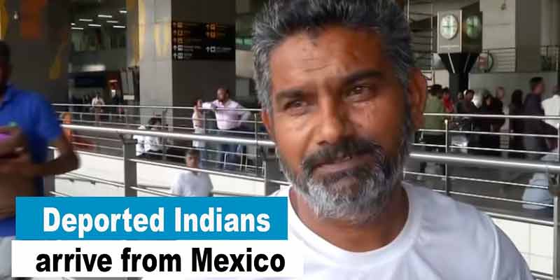 Mexico Deports Indians