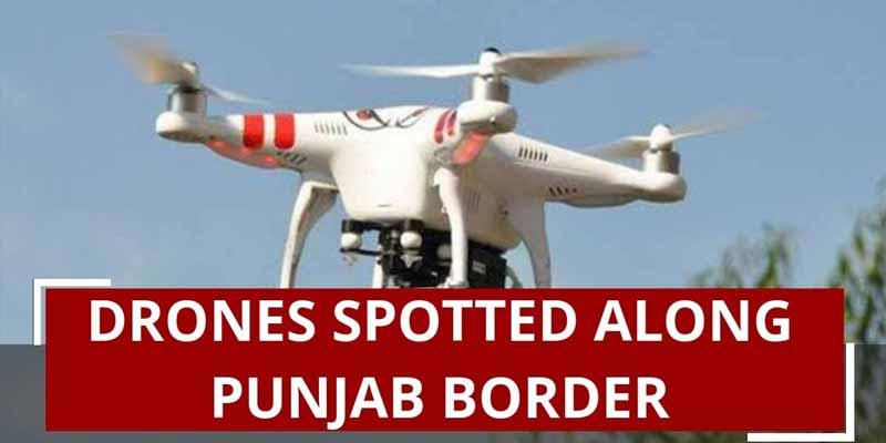 Pakistan Drone In Punjab India