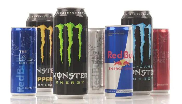 Sugar quantity in energy drinks