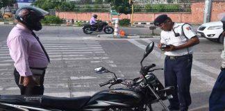 Traffic Fines Gurugram