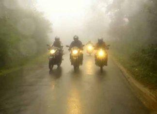 Two Wheeler Ride During Monsoons