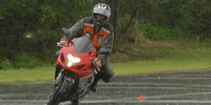 Two Wheeler Ride During Rains