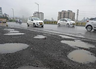 condition of roads in Mumbai
