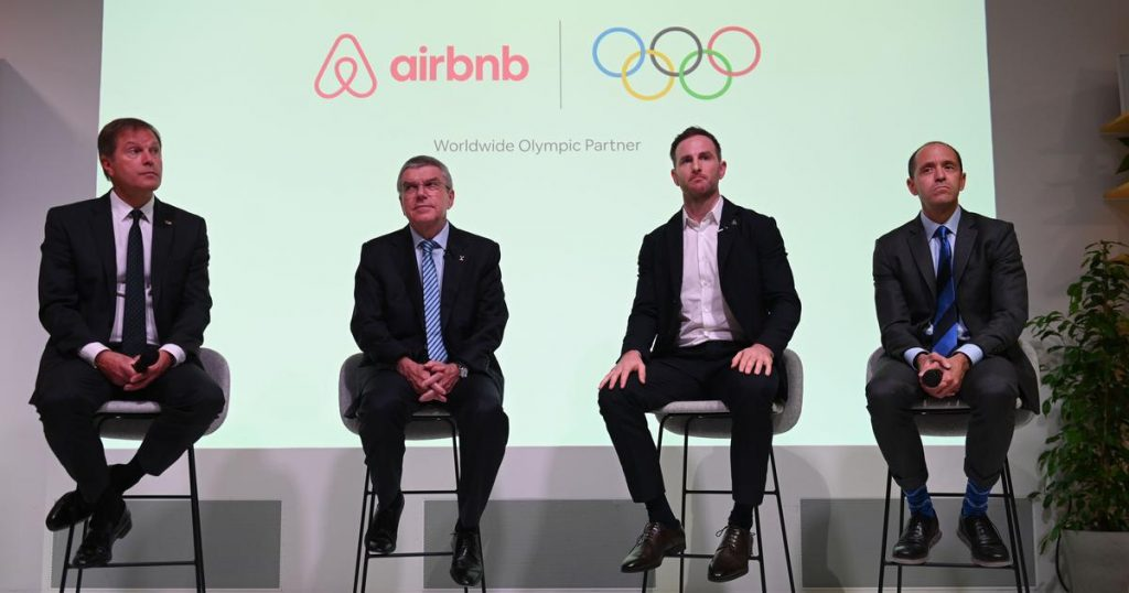 Airbnb to partner 2028 Olympics
