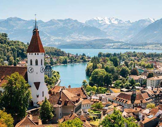 Beautiful places in switzerland