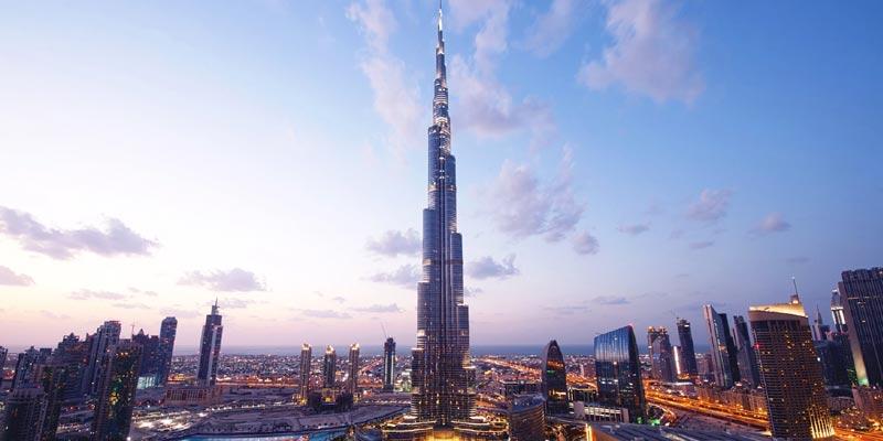 Burj Khalifa Dubai, Second Tallest Building In World