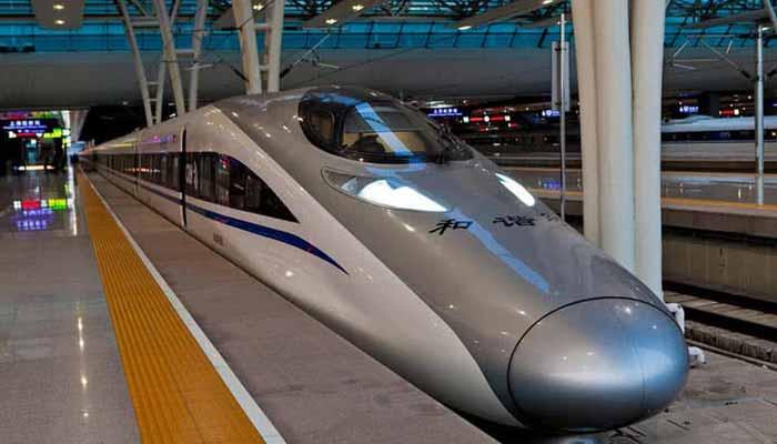 China's 'Harmony Express'