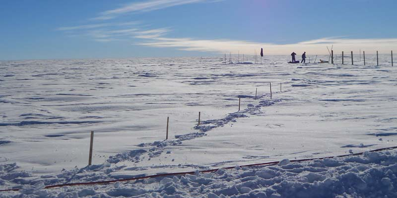 East Antarctic Plateau, Coldest Place on Earth