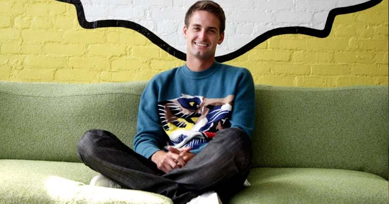 Evan Spiegel snapchat, World's Youngest Billionaire