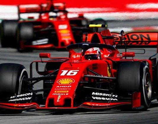 Ferrari's engine