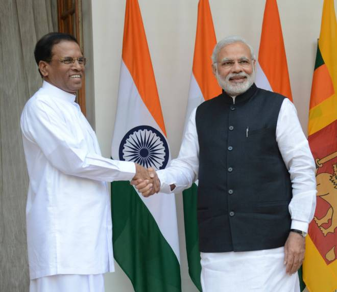 Indian aid to Sri Lanka