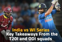 India vs WI series 2019