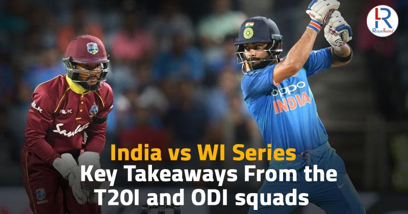 India vs WI series 2019