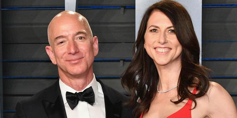 Jeff Bezos-MacKenzie Bezos, World's most expensive divorces In History