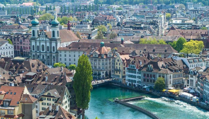 Lucerne City switzerland