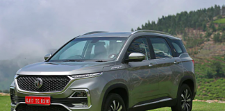MG Hector's performance in India