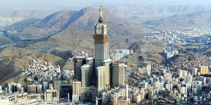 Makkah Clock Royal Tower, Saudi Arabia