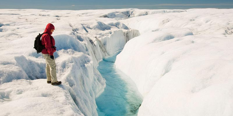 North Ice Greenland, Coldest Places Earth
