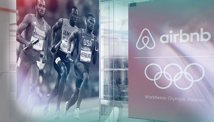 Olympics partner- Airbnb