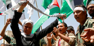 Palestine's right toward self determination