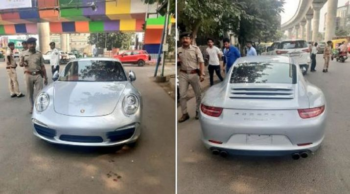 Porsche Driver In Ahmedabad Fined Rs 9.8 Lakh For Driving Without Documents