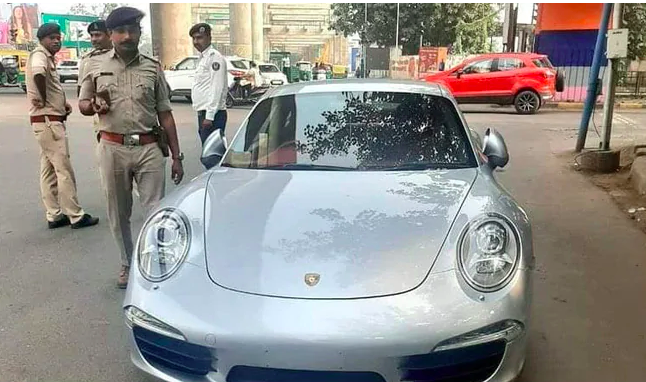 Porsche driver in Ahmedabad