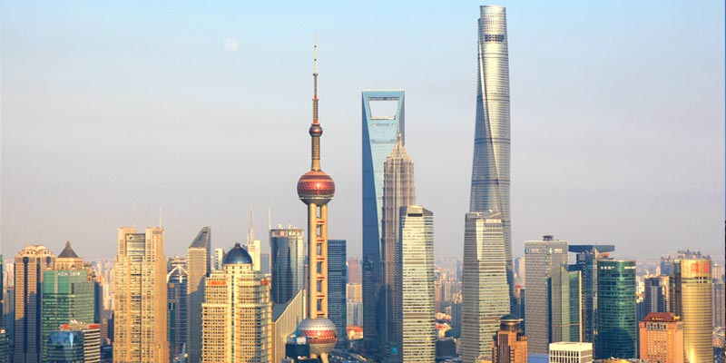Shanghai Tower China, Second Tallest Building