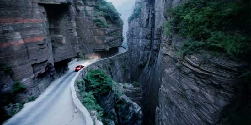 The Guoliang Tunnel Of China
