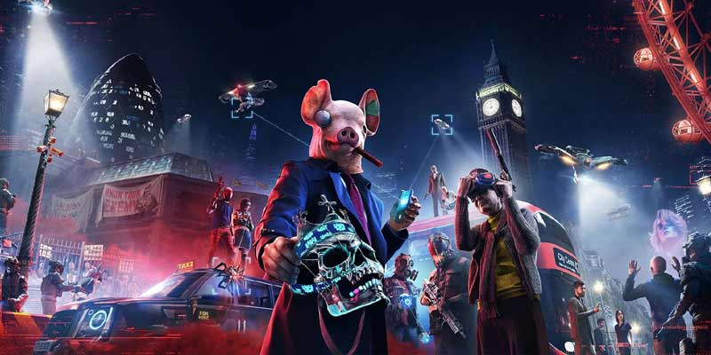 Watch Dogs Legion, Upcoming PS4 Games 2020