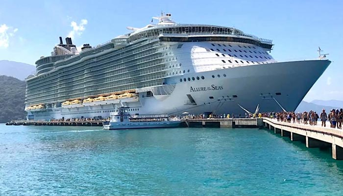 World's largest cruise