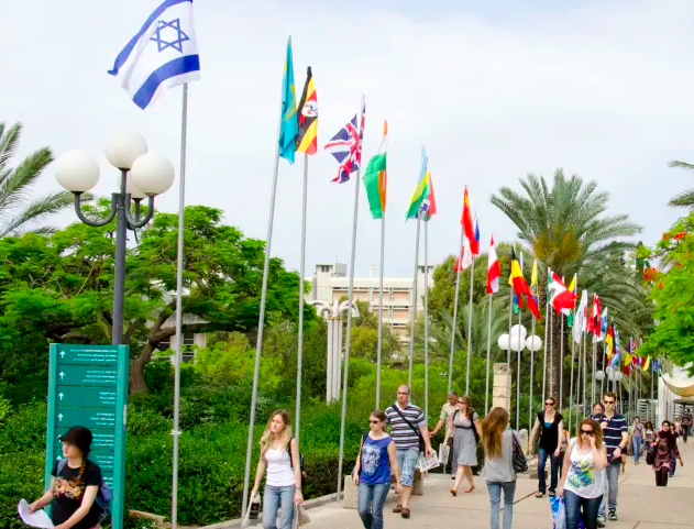 foreign students in Israel
