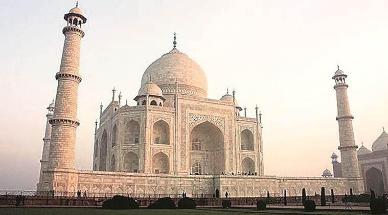 air purifier at the Taj Mahal