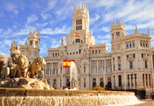 tourist arrivals in Spain for 2019