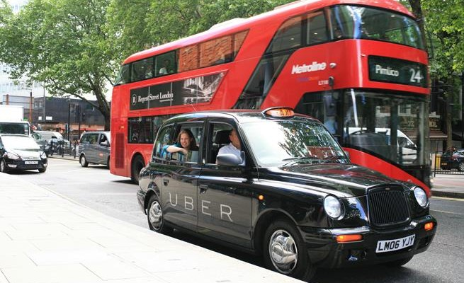 Uber contributing to air pollution in Europe