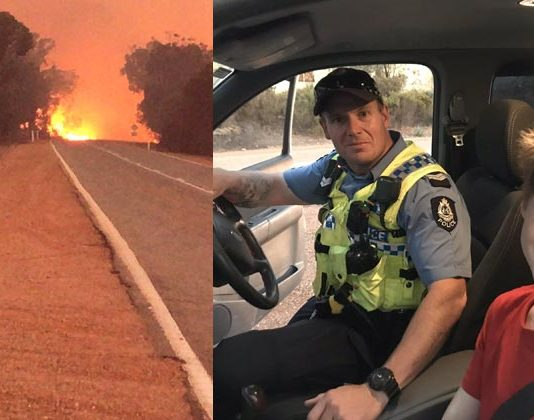 12-year-old boy drives truck to flee Australian bushfire with dog