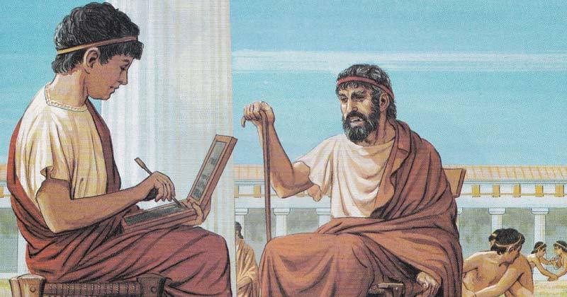 Ancient greek school
