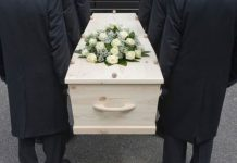 Bizarre funeral rite in the world
