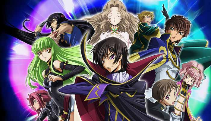 CODE GEASS LELOUCH OF THE REBELLION Best-Animated Series on Netflix