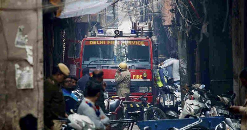 Delhi Factory 43 Died