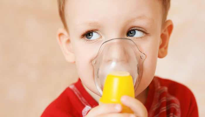 Diseased children suffer from shortness of breath