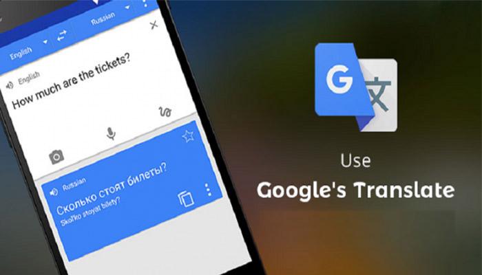 Google Translate App, Best Travel Apps